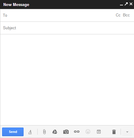 "Gmail: New look of ""Compose"" revealed"