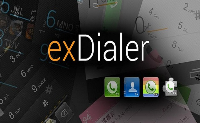 exDialer & Contacts - Android App