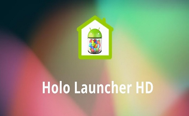 Holo Launcher HD - Android App