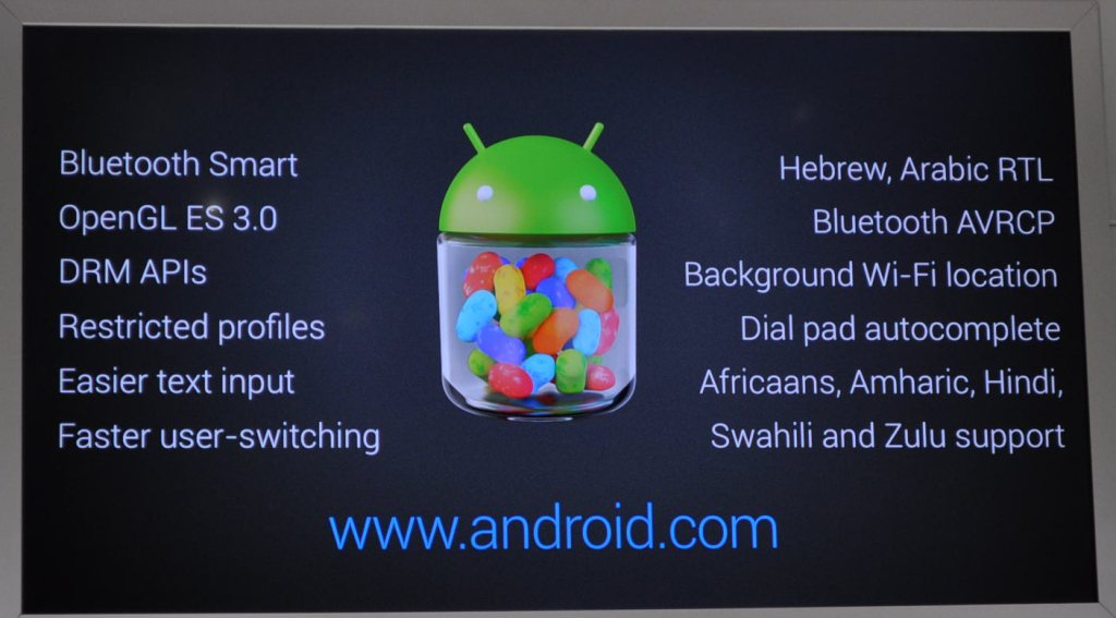 Android 4.3 Jelly Beans Launched Officially, New Features in Details