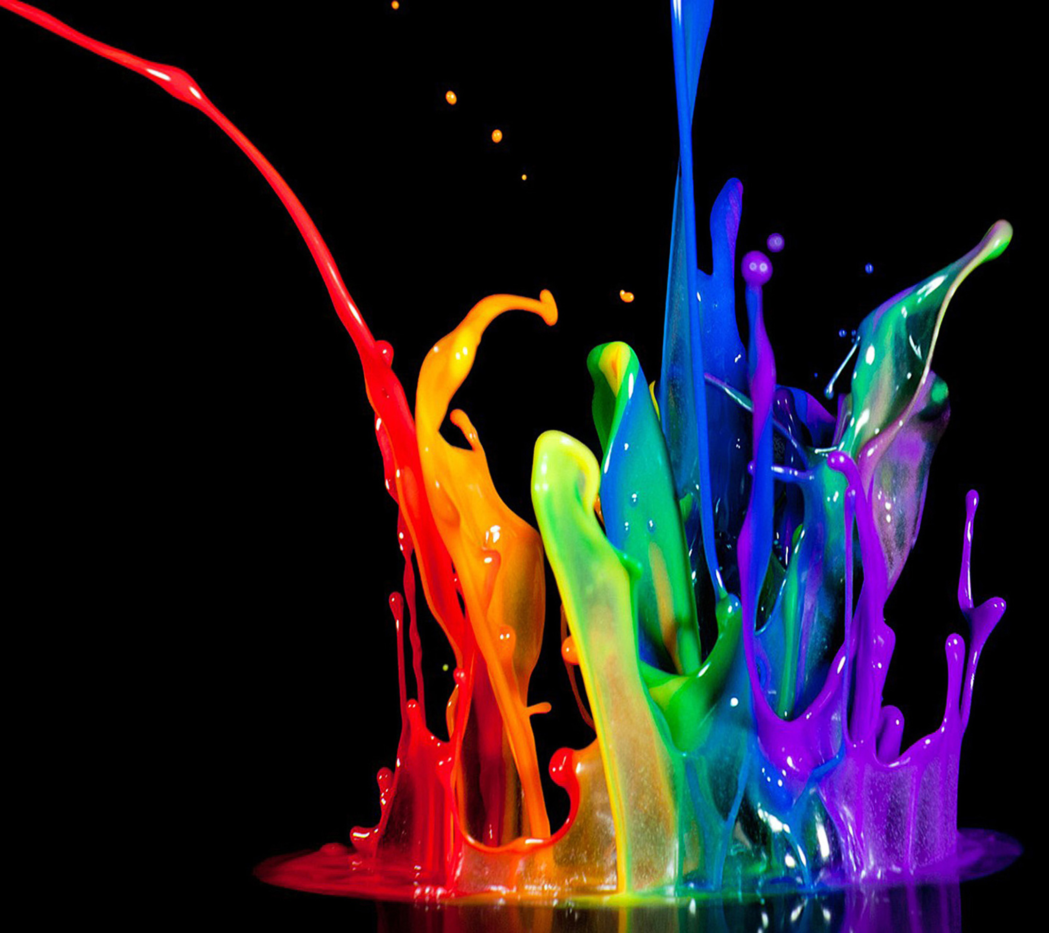Holi special 25 colourful homescreen wallpapers for your for Wallpaper live home