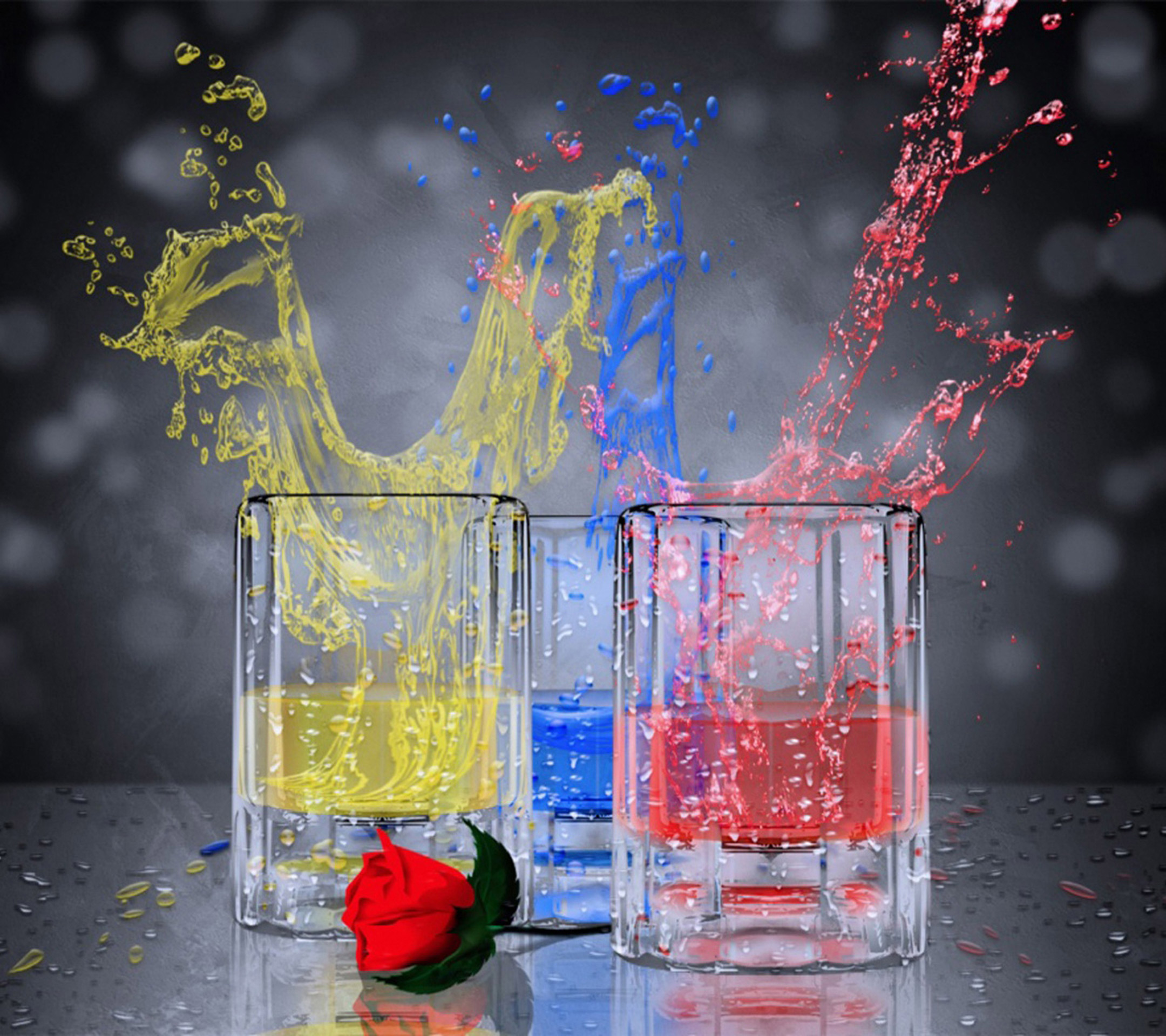 Home Wallpaper Phone: Holi Special: 25 Colourful Homescreen Wallpapers For Your