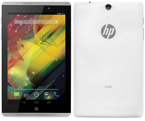 HP Slate7 VoiceTab (3G+16GB) - 5 Best Tablets under 15000 Rs