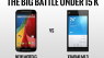 New Moto G vs Xiaomi Mi 3: Which is the Best Phone under 15,000 Rs ?