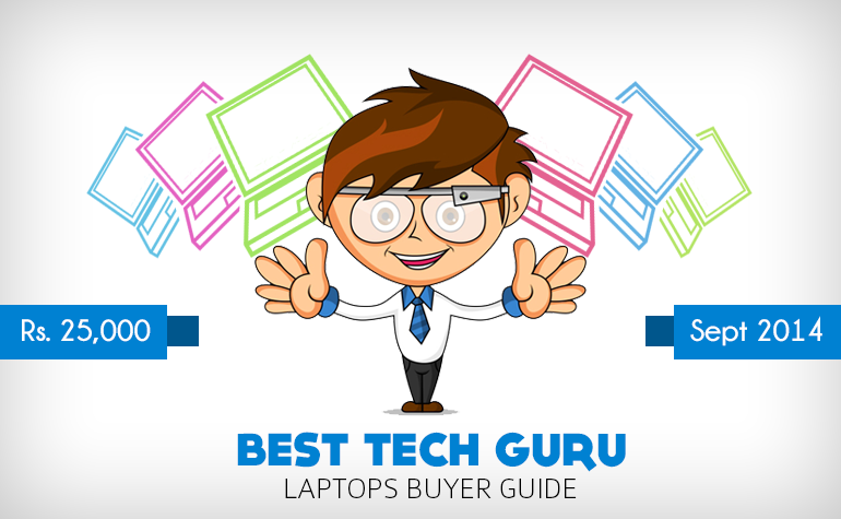 5 Best Laptops under 25000 Rs in India (September 2014)