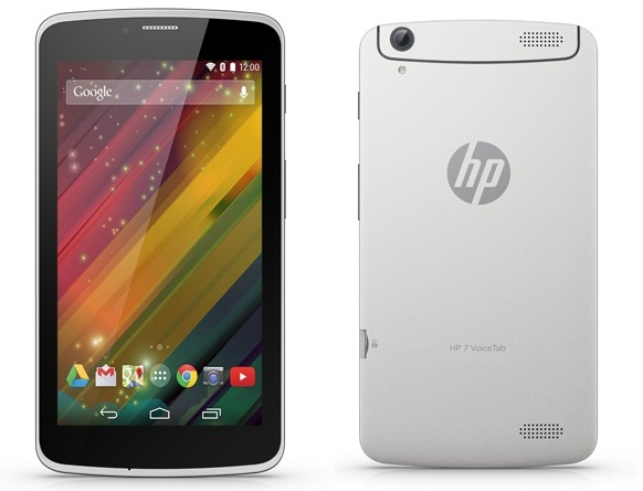 HP 7 Voice Tab - 5 Best Tablets under 10000 Rs