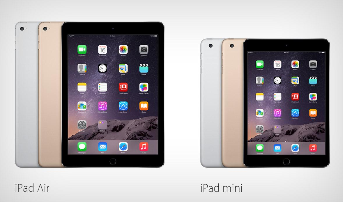 Ipad Air 2 and Ipad mini 3_2