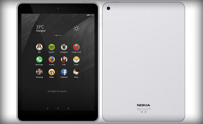 Nokia Unveils First Android Tablet running 5.0 Lollipop