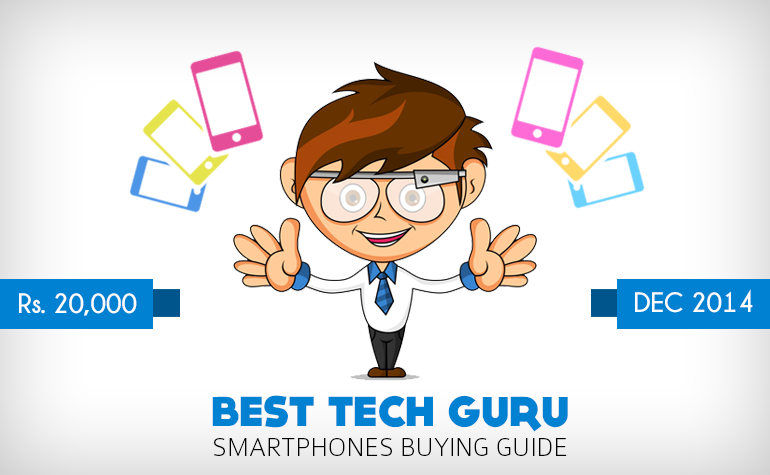 20000 - BEST TECH GURU SMARTPHONES BUYERS GUIDE