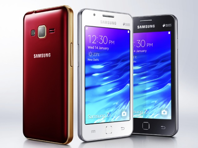 Samsung's First Tizen Smarthone Launched In India At Rs. 5,700