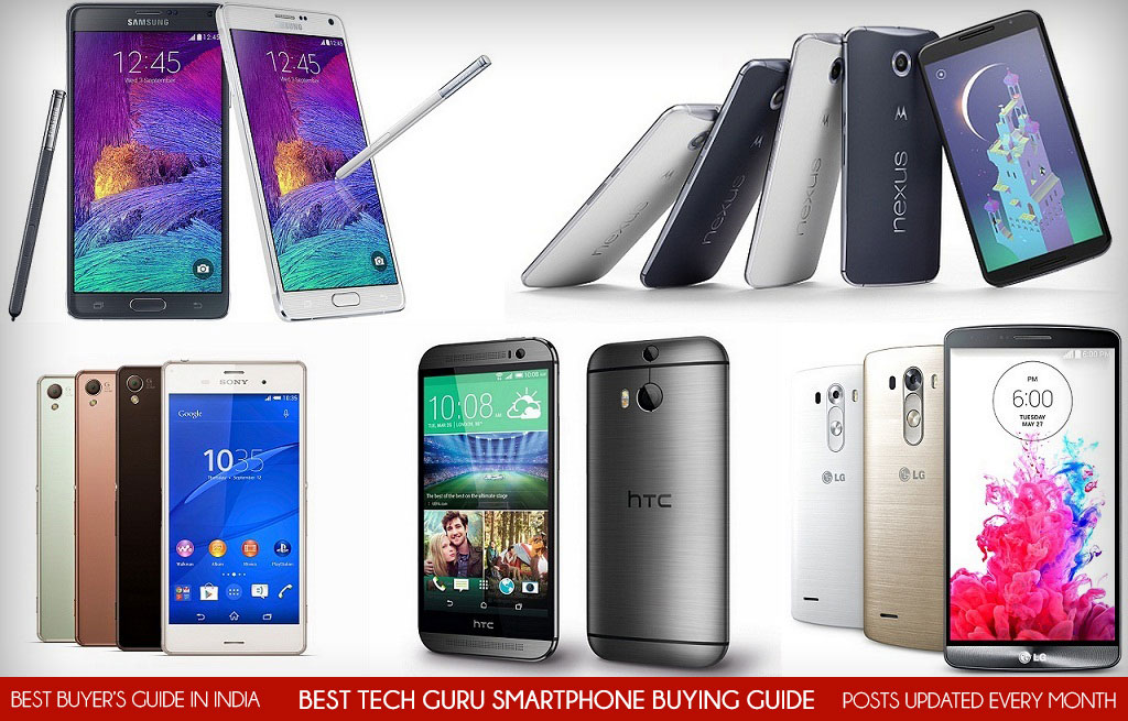 5 Best Android Smartphones in World (2015)
