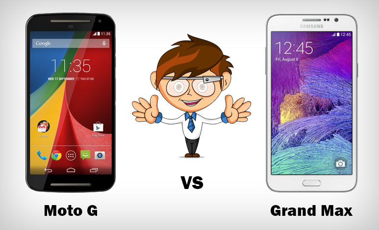 Moto G (2nd Gen) Vs Galaxy Grand Max : Detailed Comparison