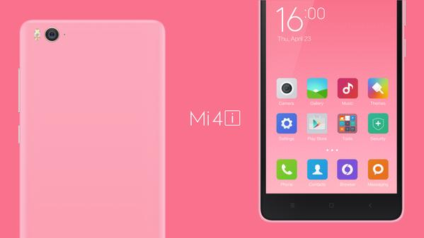 Xiaomi Mi 4i Launched in India at Rs. 12,999, will go on sale from 30th April