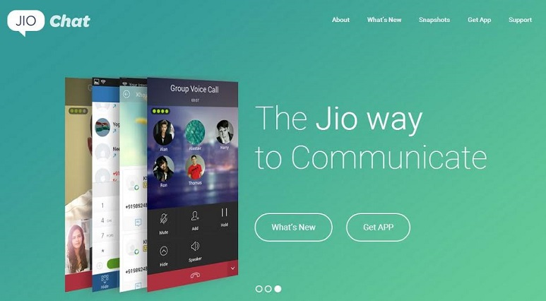Reliance Jio Chat launched: It's a full featured instant messaging, voice & video calling app
