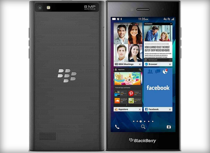 Blackberry Leap : A Power-packed Smartphone Launched in India at Rs. 21,490