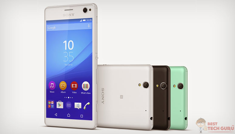Sony Xperia C4 and C4 Dual : Selfie-Focused Smartphones Launched
