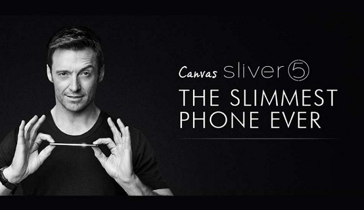 Micromax Canvas Silver 5  World's Slimmest Smartphone Launched