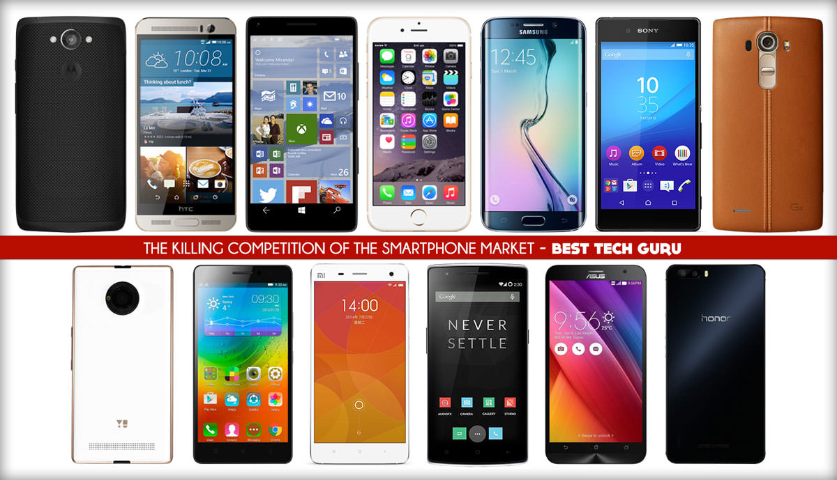 The Killing Competition of the Smartphone Market!