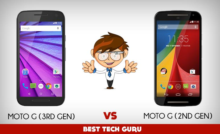 Moto G (3rd Gen) vs Moto G (2nd Gen): All the Improvements in Details