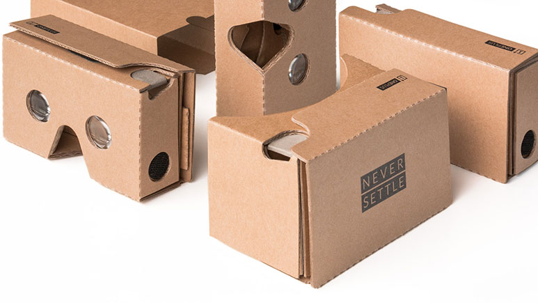OnePlus Cardboard VR Headsets will be available for just Rs. 99 in India