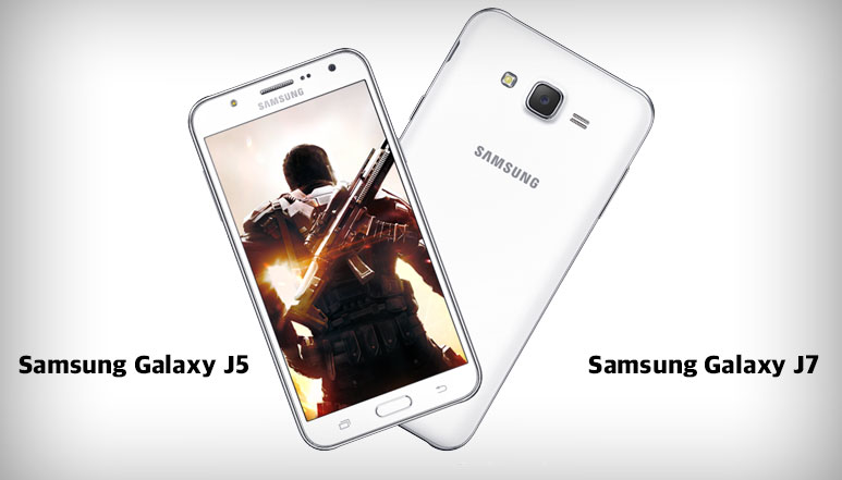 Samsung Galaxy J5 & J7 with 5MP Front Camera & Front LED Flash Launched at 11,999 Rs & 14,999 Rs