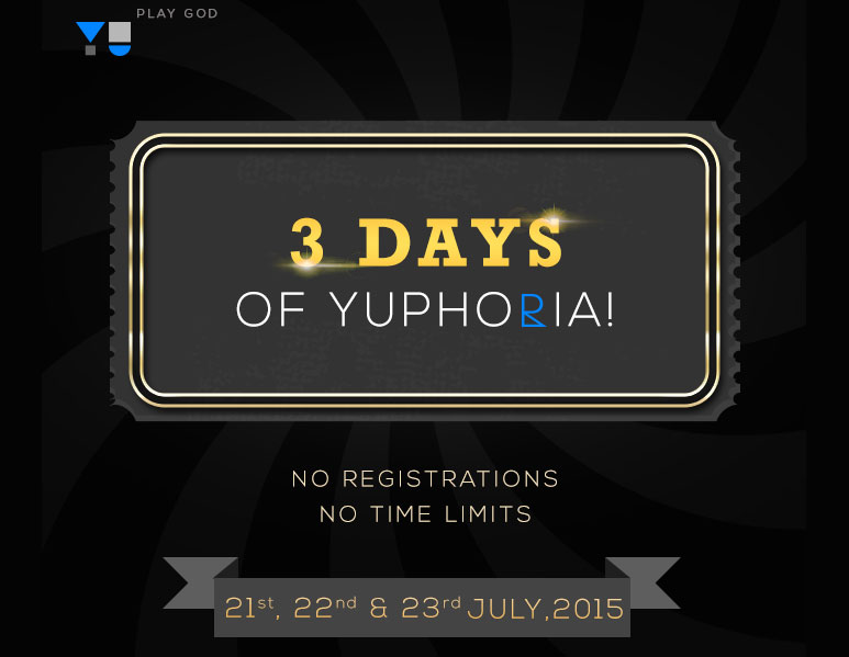Yuphoria Open Sale: 1 Lakh Phones Without Registration on 21,22 & 23 July