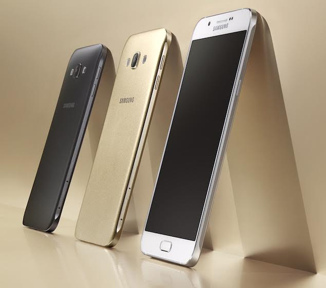 Galaxy A8, Samsung's Slimmest Phone with 16 & 5 MP Cameras launched at 32,500 Rs