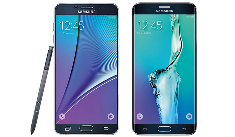 Galaxy Note 5 & S6 Edge Plus Leaked Image