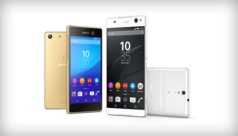 Sony Xperia C5 Ultra and Xperia M5 with 13 MP Front Cameras Launched