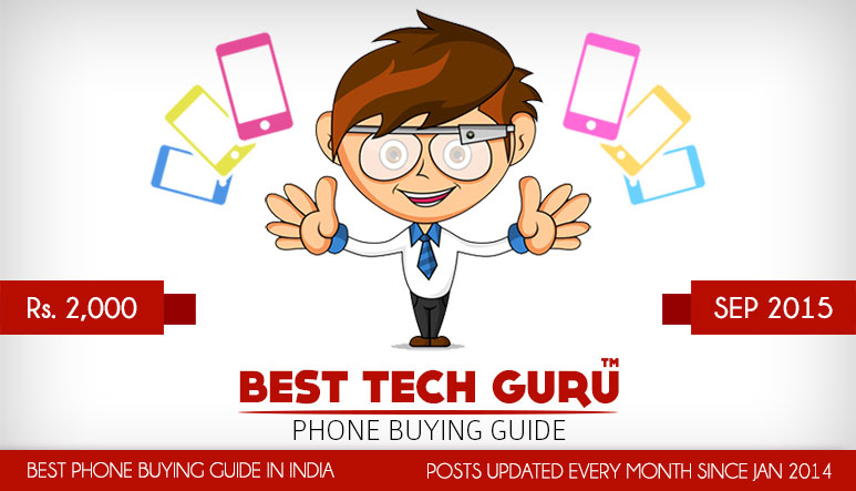 5 Best Feature Phones under 2000 Rs (2015)