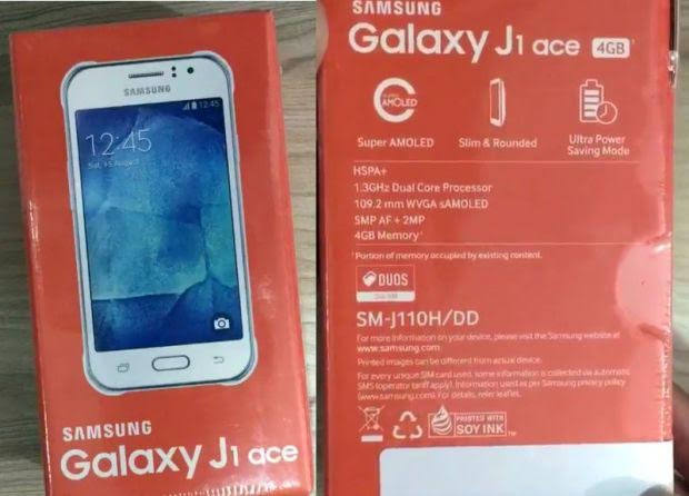 Samsung Galaxy J1 Ace with 4.3-inch Super AMOLED display available at Rs. 6400
