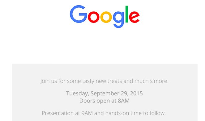 Google confirms Sep 29 Event, likely to launch Nexus 5X, Nexus 6P & Android 6.0