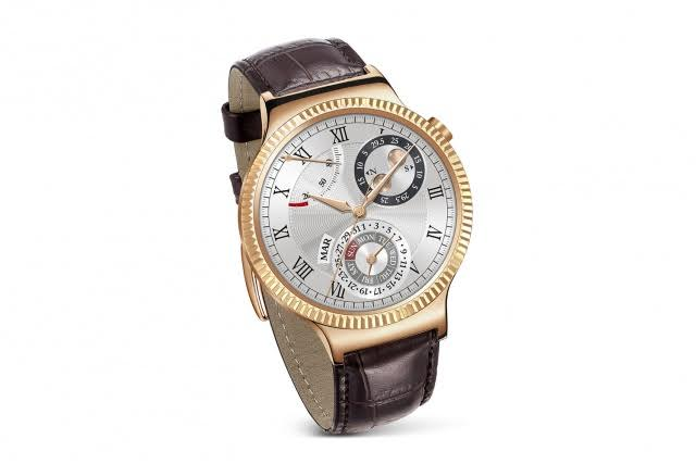 Huawei Watch Gold Leather
