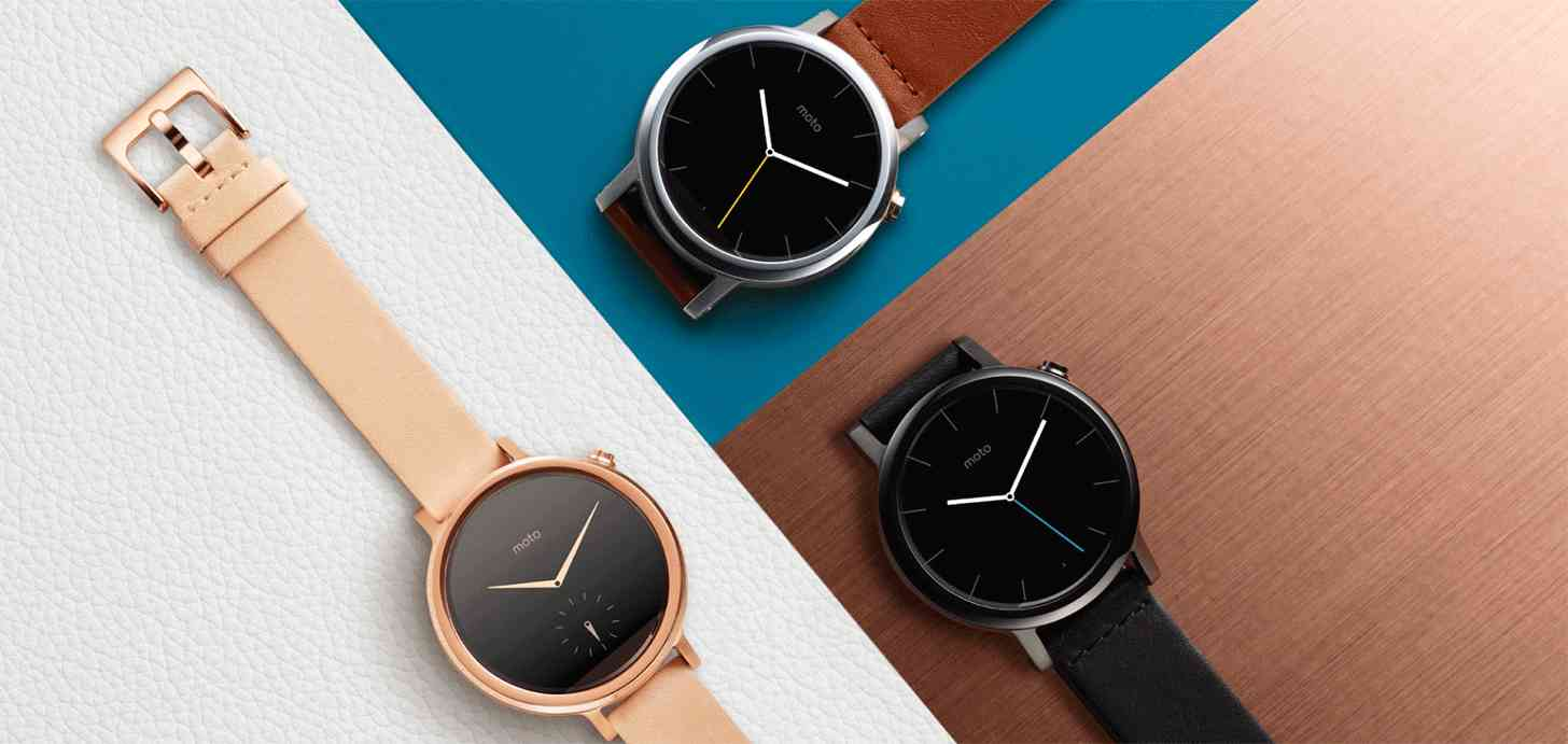 New Moto 360 Colors