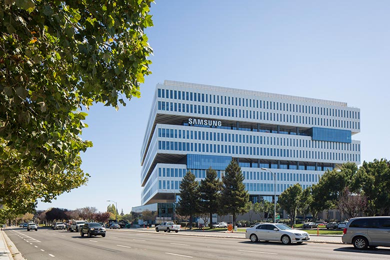 This is Samsung's new Headquarters in Silicon Valley, spread in over 1.1 million square feet