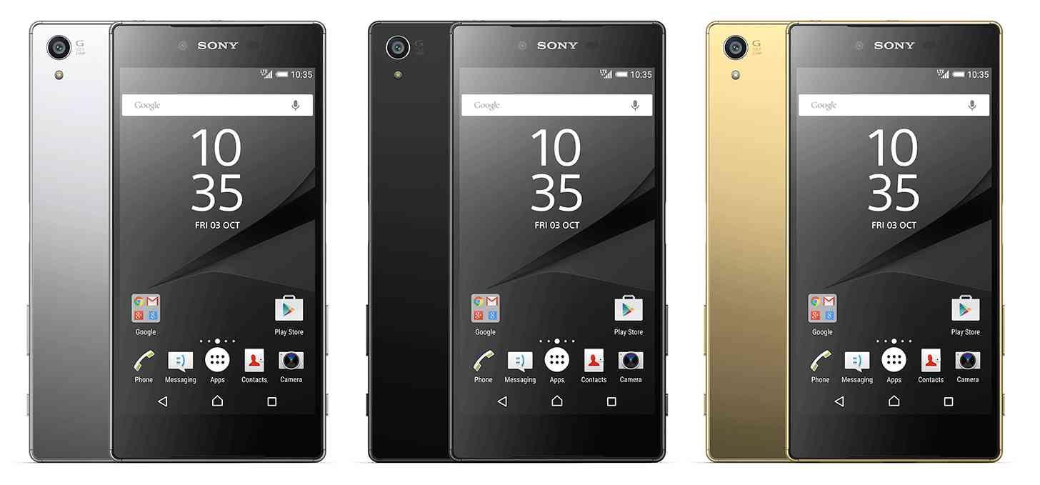 Xperia Z5 Premium Colors