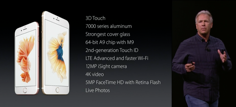 iphone 6s and 6s Plus specifications