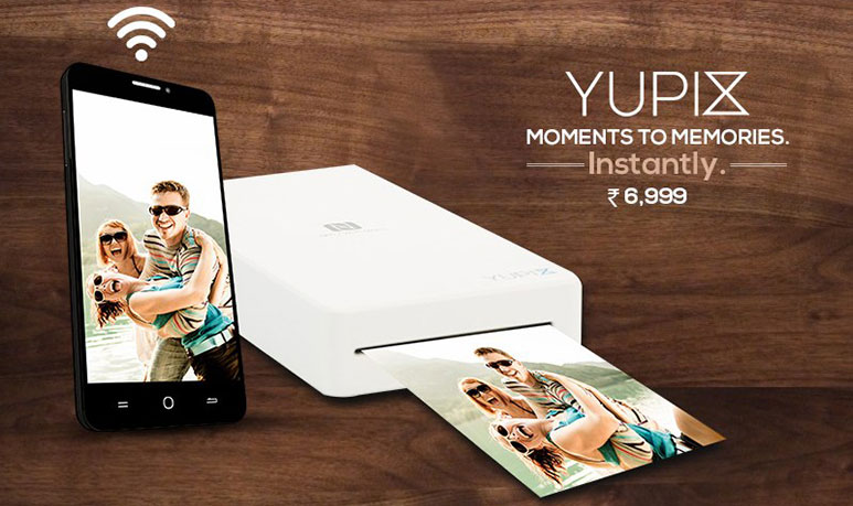 YuPix: The pocket sized wireless printer for smartphones now available at Rs. 6,999