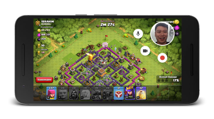 Google Play Games gets Record and Share Gameplay feature