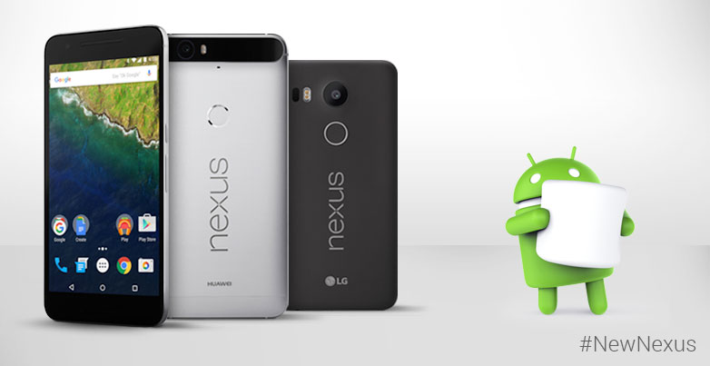 Google Nexus 5X and Nexus 6P launched in India at Rs. 31,900 and Rs. 39,999