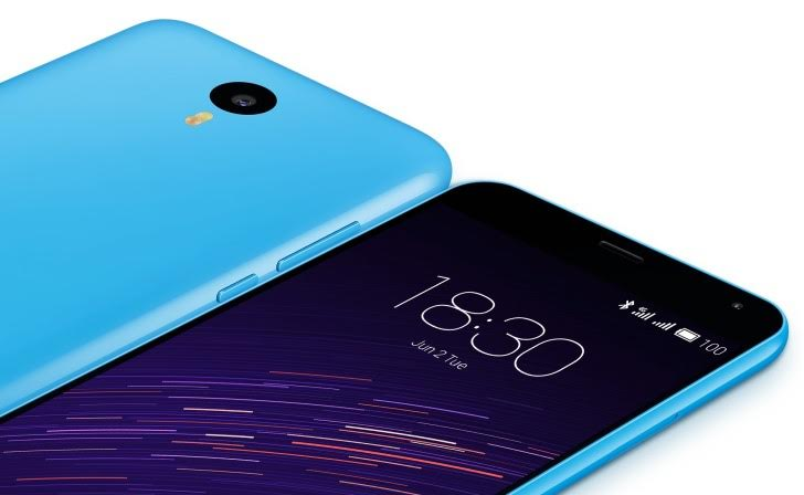 Meizu M2 with 13MP rear camera launched in India at Rs. 6999