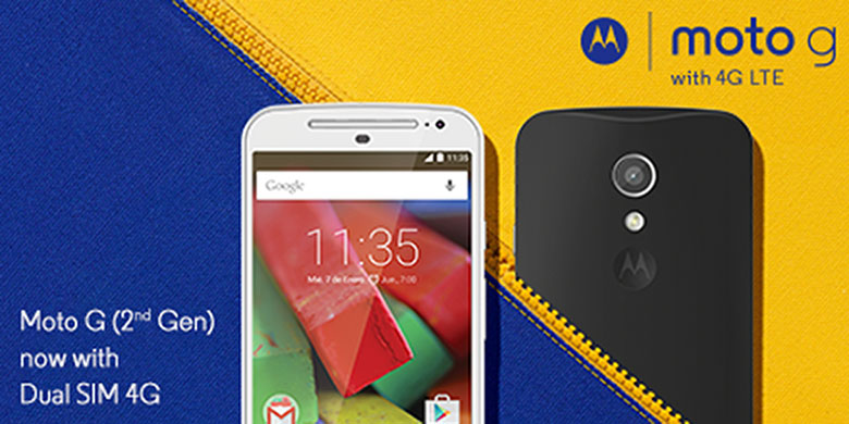 Moto G (2nd Gen) 4G with bigger 2390mAh battery launched at Rs 8,999
