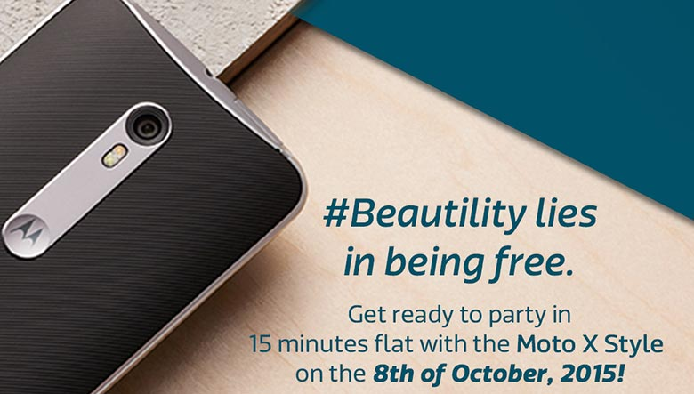 Moto X Style listed on Flipkart, launch set for 8th October