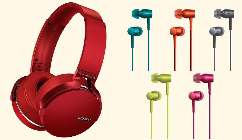 Sony announces new Headphones & Earphones in India starting at Rs. 6,990