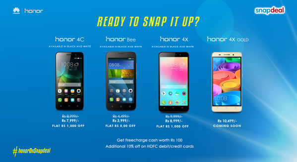 Honor-Snapdeal