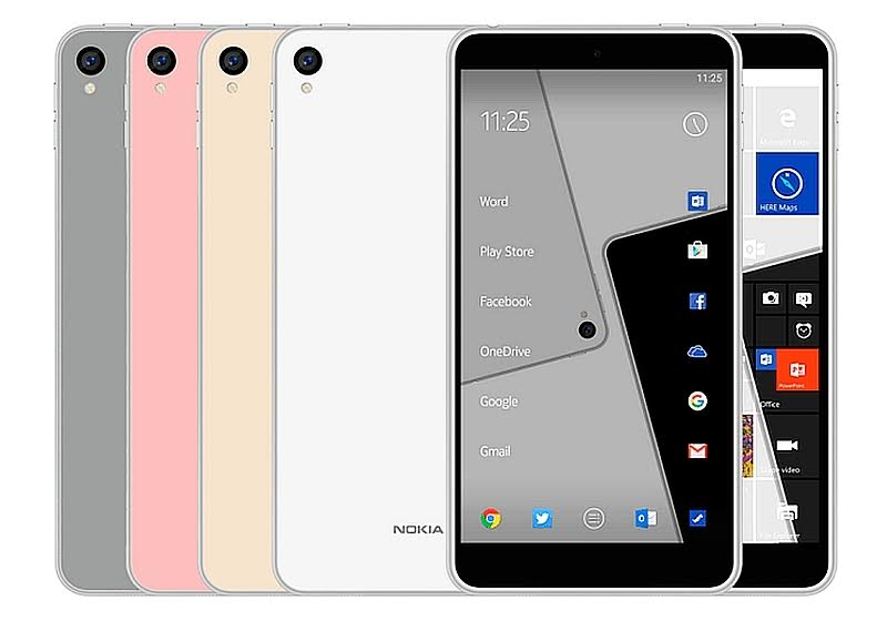 New Leaks reveal Nokia C1 to have both Android and Windows OS variants