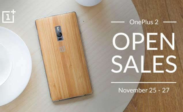 OnePlus 2 to go on Open Sales; no invites needed from 25 to 27 November