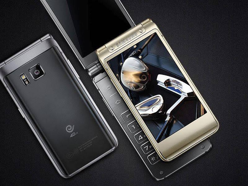 Samsung W2016 Flip-phone with Dual-Display, 3GB RAM & 16MP Camera Launched