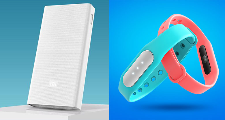 Xiaomi Mi Band 1S and 20000 mAh Power Bank launched in China