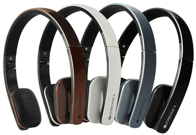 Zebronics announces Happy Head Wireless Bluetooth Headphones at Rs. 1,499
